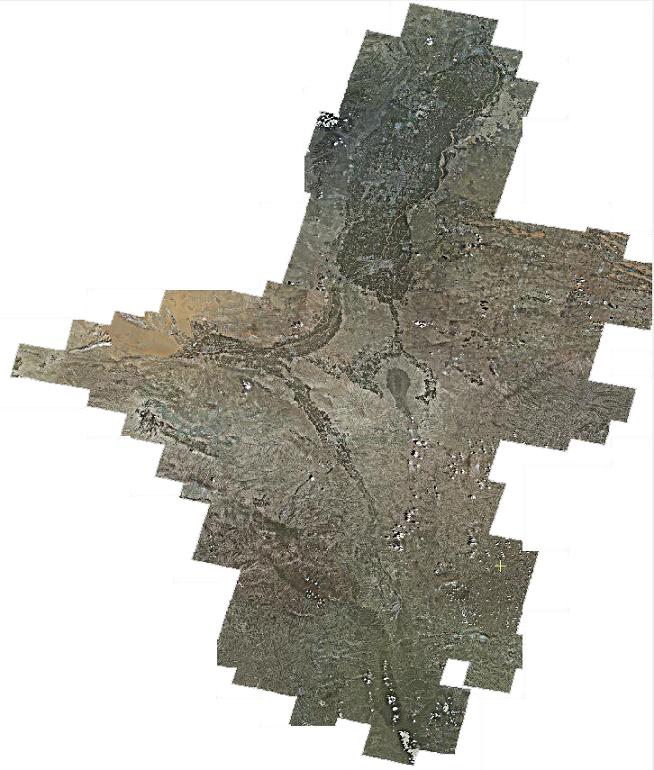 卫星影像制作系统底图