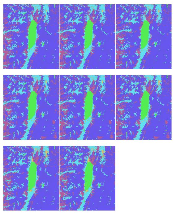 遥感卫星影像制作土地利用分类