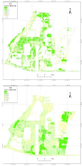卫星影像图制作植被覆盖度制图