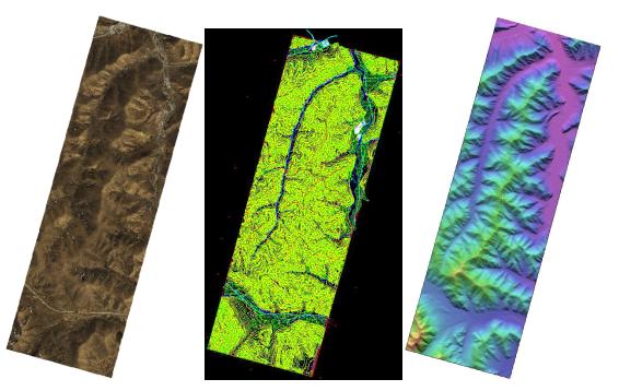 卫星影像立体像对-4D产品制作(DOM、DLG、DEM、DSM)