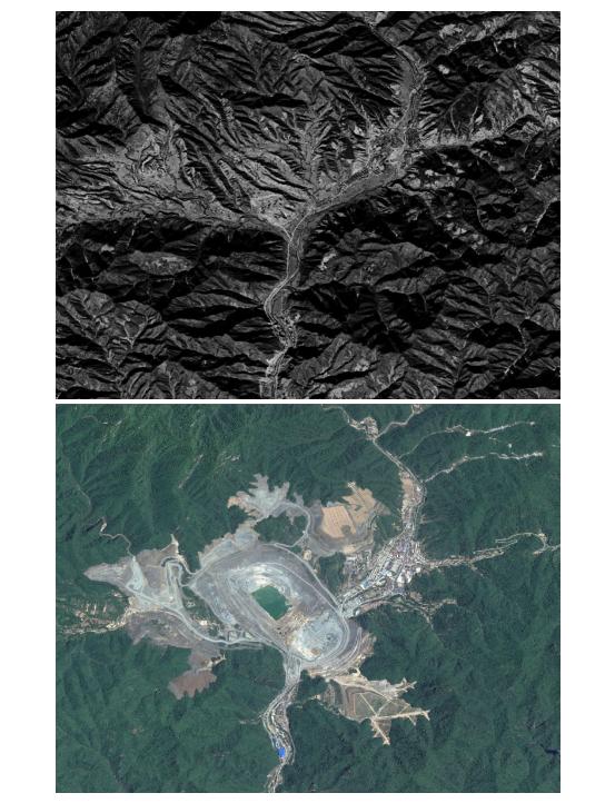 卫星影像山体生态环境监测及产能优化